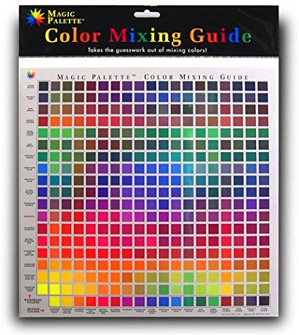 Magic Palette Inc. Colour Mixing Guide 11.5 x 11.5