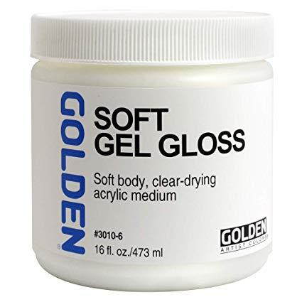 Golden 16oz Soft Gel Gloss