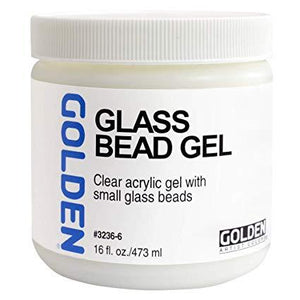 Golden 16oz Glass Bead Gel