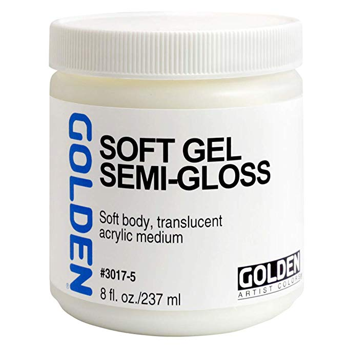 Golden 8oz Regular Gel Semi-gloss