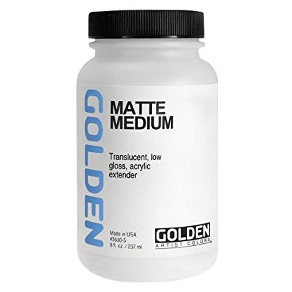Golden 8oz Matte Medium