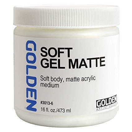 Golden 16 oz Soft Gel Matte