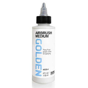 Golden 4oz Airbrush Medium