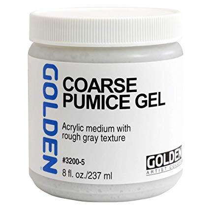 Golden 8oz Coarse Pumice Gel