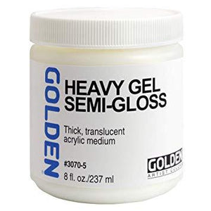 Golden 8oz Heavy Gel Semi-gloss