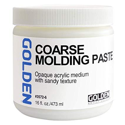 Golden 16 oz coarse molding paste