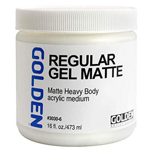 Golden 16oz Regular Gel Matte