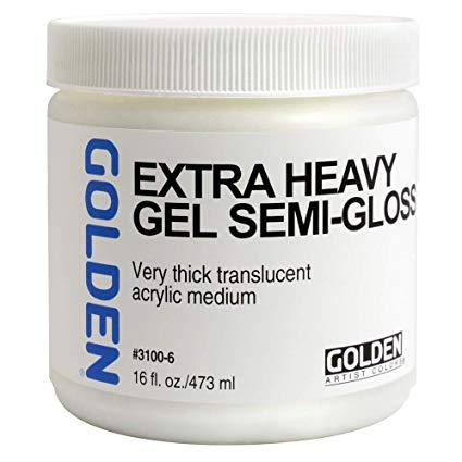 Golden 16oz Heavy Gel Semi-gloss