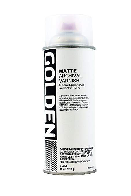 Golden UVLS - Archival Varnish Spray Matte