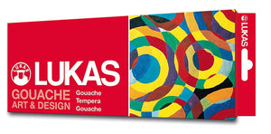 Lukas Gouache Art & Design Set/12 12ml