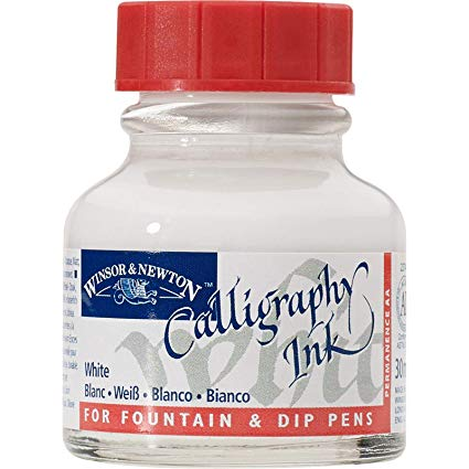 Winsor & Newton Calligraphy Ink - White 30ml