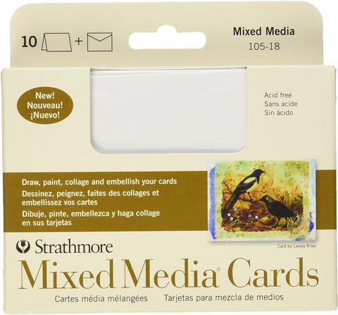 Strathmore Mixed Media Cards Announcement Size