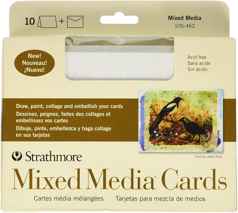 Strathmore Mixed Media Cards Full Size