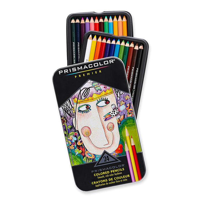 Prismacolor Premier Coloured Pencil Set/24