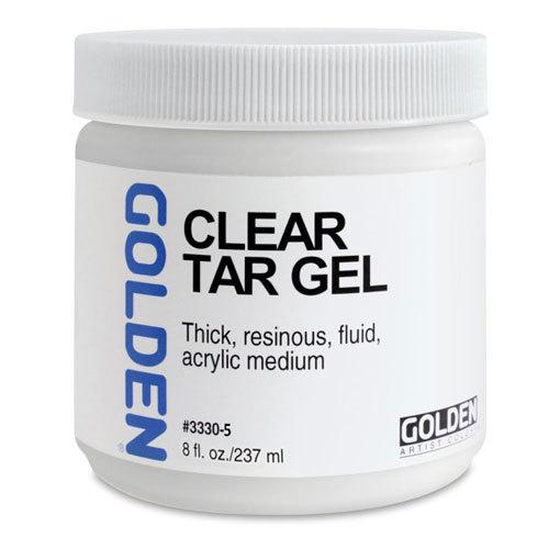 Golden 8oz Clear Tar Gel
