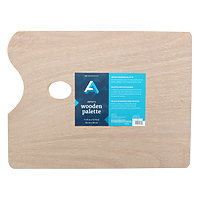 Art Alternatives Wood Palette Rectangle 11.75x15.75
