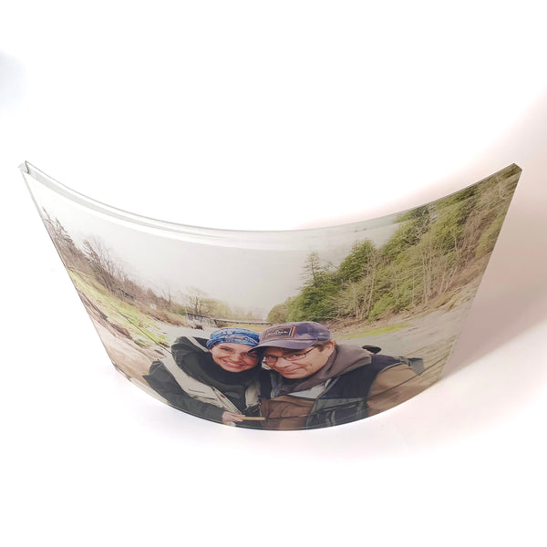 Colorlyte Curved Acrylic Photo 8x10