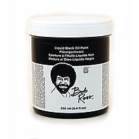 Bob Ross Liquid Oil Paint Black 250ml
