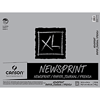 Canson XL Newspaper Print Pad 18x24