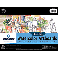 Canson Plein Air Watercolour Boards 9x12