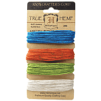 Hemptique  - Hemp Cord - Bright 20lb