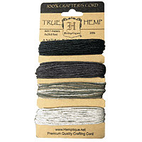 Hemptique - Hemp Cord Set 20lb Earthy