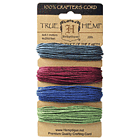 Hemptique - Hemp Cord - Earthy Pastel 20lb