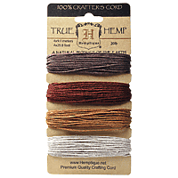 Hemptique - Hemp Cord - Bronze 20lb
