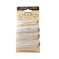 Hemptique - Hemp Cord Set Multi-Weight Natural