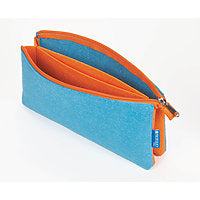 Itoya ProFolio Midtown Pouch 5x9 Ocean/Orange