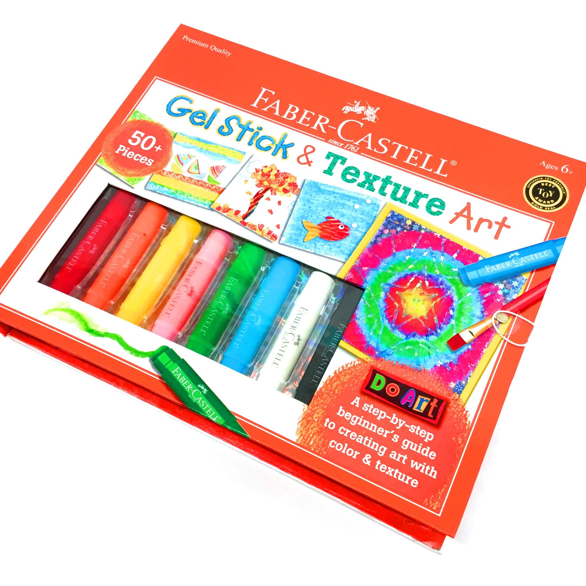 Faber-Castell Gel Stick & Texture Art Kit