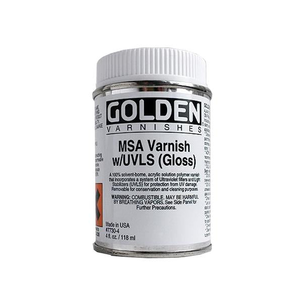Golden 4oz MSA Varnish Gloss