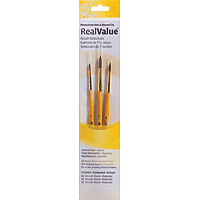 Princeton Real Value Brush Sets Camel Hair Brush Set Round