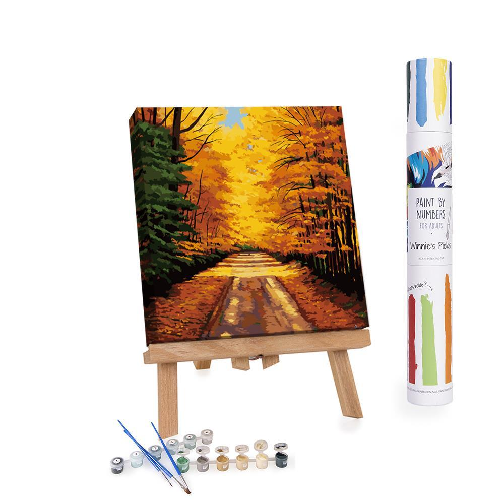 Winnie's Picks - Paint by Numbers - Country Lane