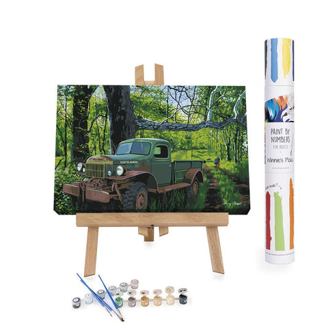 Winnie's Picks - Paint by Numbers - The Ol' Power Wagon