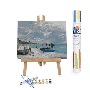 Winnie's Picks - Paint by Numbers - The Beach at Sainte ...