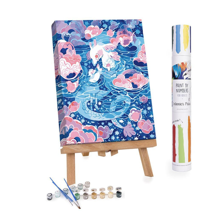 Winnie's Picks - Paint by Numbers - Water World