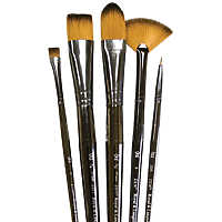 Royal & Langnickel Zen All Media Brushes 5/set