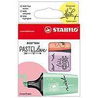 Stabilo BOSS Mini Pastellove Highlighter Set 3/Set