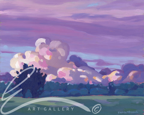 Twilight Clouds - Print