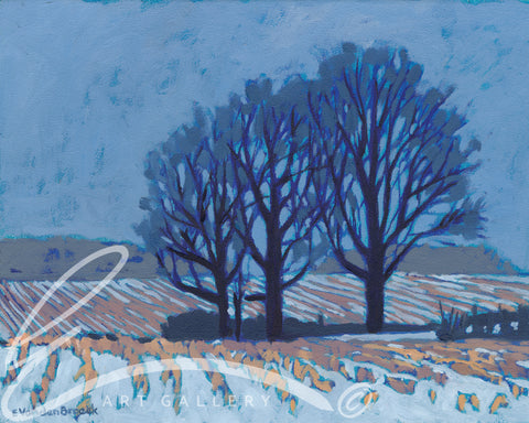 Winter Blues - Print