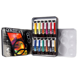 QOR Introductory Watercolour Hi-Chroma Set/6 5ml