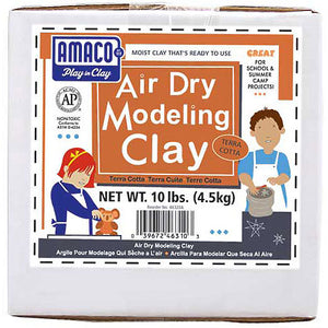 Ameco Clay Air Dry Terracotta 10lbs