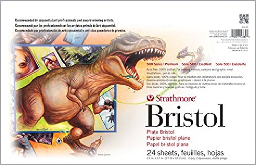 Strathmore Sequential Art Bristol Paper Pads 500 Series 11x17