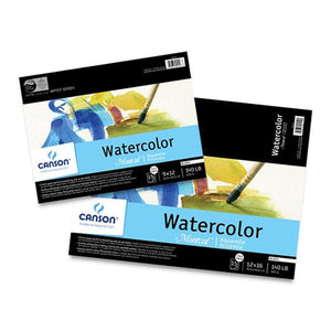 Canson Montval Watercolour Block Cold Press 140lb 6x9