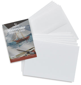 Canson Montval Watercolour Cards with 4x6 30/PK