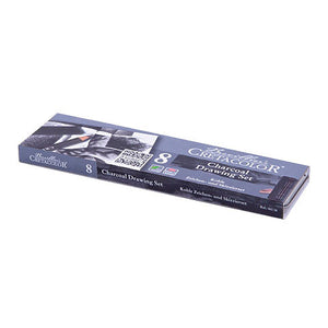 Cretacolor Charcoal Pocket Pencil Set 8pc
