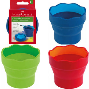 Faber-Castell Water Cup Clic & Go Blue