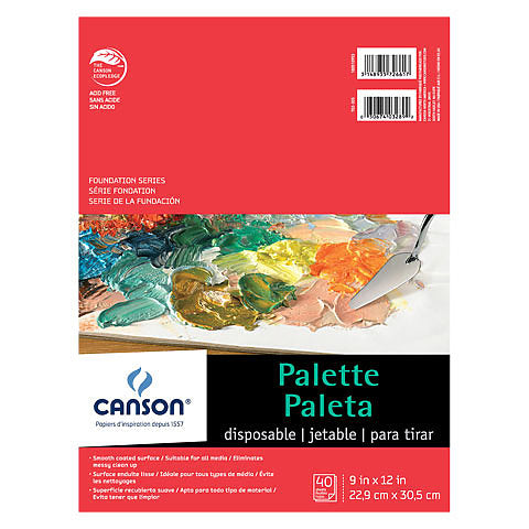 Canson Disposable Palette 12x16
