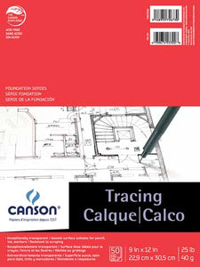 Canson Tracing Paper Pad 11x14 50 sheets